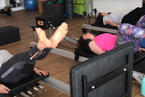 Mixed Ability Cardio Jump Reformer Pilates